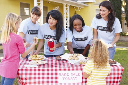 Host an Event.Bake Sale