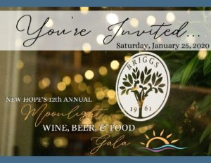 New Hope's 12th Annual Moonlight Wine, Beer & Food Gala