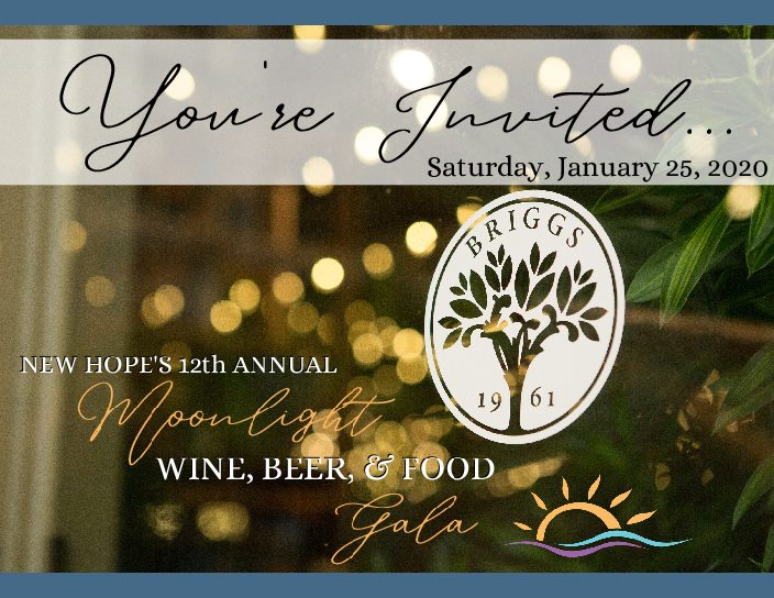 New Hope's 12th Annual Moonlight Wine, Beer & Food Gala