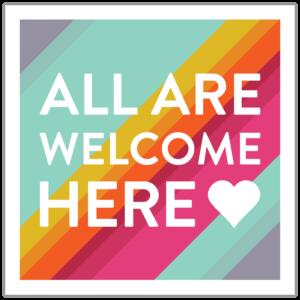 Todos son bienvenidos aqui